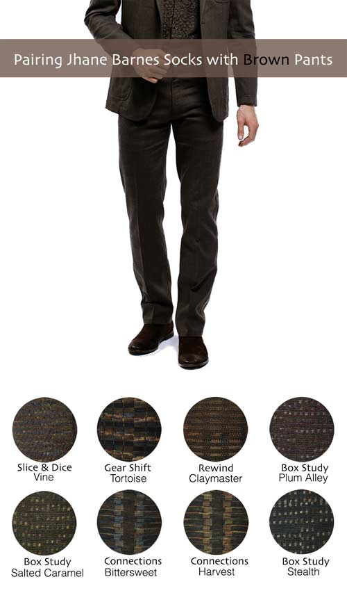 Socks to Wear with Brown Pants