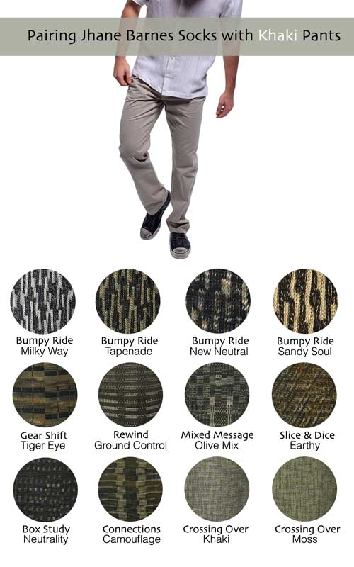 Socks to Wear with Khaki Pants